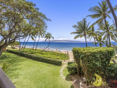 Photo for Best Kihei Location; Oceanfront with Stunning Views; Spacious 2BR on the Beach!
