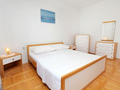 Photo for Two bedroom apartment with terrace and sea view Senj
