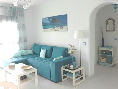 Photo for Beautiful sunny apartment at the beach