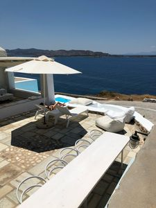 Photo for Thea Villas 1, Breathtaking Panoramic View To the Sea & Sunset, private pool
