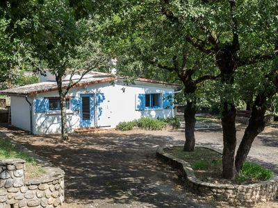 Photo for Ideal centrally located gite with large garden and shared pool