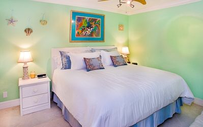 Photo for South Seas Beach Front king bed sleeper sofa renovated ON THE BEACH higher floor