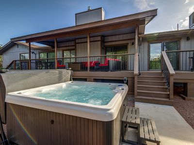Photo for Fully Remodeled, Large Private Yard with Hot Tub, Sleeps 20!