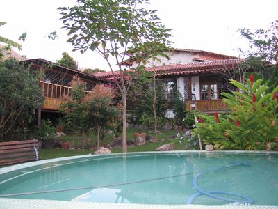 Photo for SUPER COMFORTABLE HOUSE - SOUTH OF ILHABELA - 1. 500m2 of garden - 11 PEOPLE