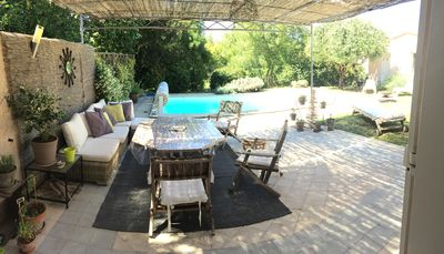 Photo for HOUSE QUIET 130 m2 WITH SWIMMING POOL EDGE GREEN AREA