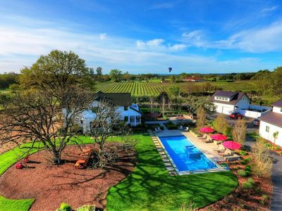 Photo for Stunning Wine Country Gated Estate w/ in-ground pool & spa