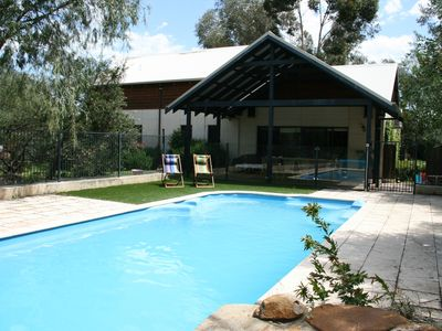 Photo for A wonderful holiday house for families with swimming pool.
