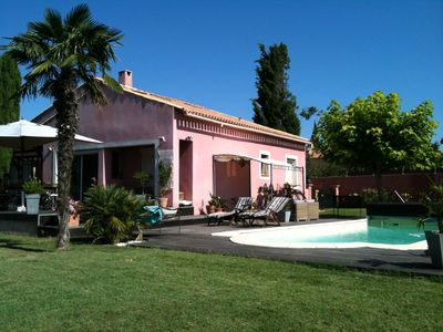 Photo for Villa in Provence 15 mn Cassis and la Ciotat with swimming pool and air conditioning