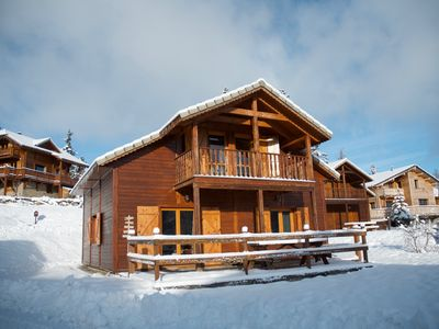 Photo for Comfortable wooden chalet, ideal for the whole family!