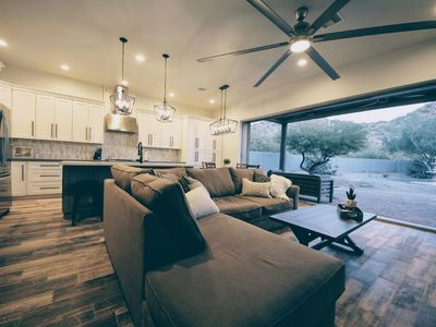 Photo for ADOBE - ABODE Modern luxury 1000sqft custom guest home with mountain views