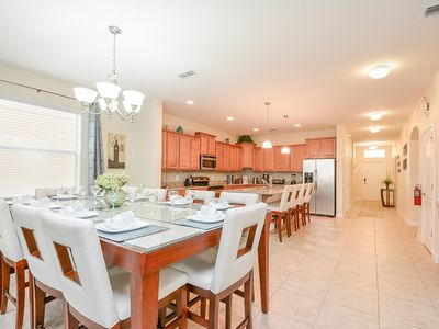 Photo for Luxury 6b/5b Townhouse with pool 12 min to Disney