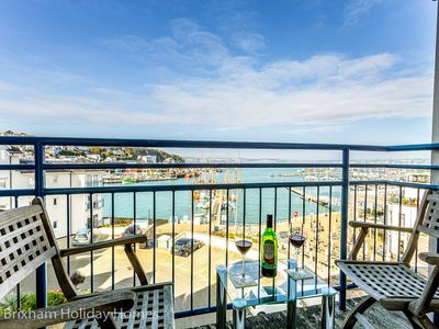 Photo for 64 Moorings Reach - Luxury 3 bedroom apartment with sea views, balcony, parking & wi-fi