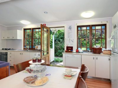 Fully self contained kitchen with all cooking ingredients &breakfast provisions