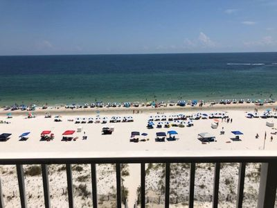 Photo for ****BRAND NEW LISTING****8th floor GULF FRONT, 3 bedrooms/3 baths-Sleeps 9