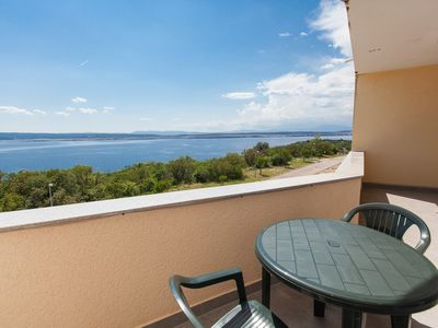 Photo for Holiday apartment Rental for 6 people with air, Internet and sea view