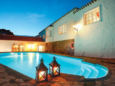 Photo for Large traditional villa for groups with heated pool, BBQ and free Wi-Fi