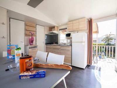 Photo for Camping Les Alizés *** - Maeva Camping - Mobile home Grand Confort 4 Rooms 6 Persons