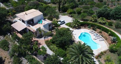 Photo for 3 Bed Villa, Tropical Gardens, Pool, Countryside, Private, Lovely Hill & Sea Views