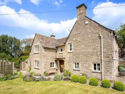 Photo for Manor Cottage is a quintessential Cotswold stone cottage, in the grounds of a beautiful manor house