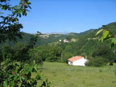 Photo for Villa with garden in Gran Sasso/Laga National Park, near forest, river, mountain trails