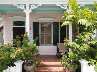 """Photo for Old Town """"Pink Conch"""" House with Pool Sleeps 8"""