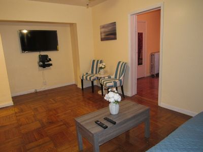 Photo for Montauk guest suite a cozy furnished 1 bedroom apartment.  Near airport and more