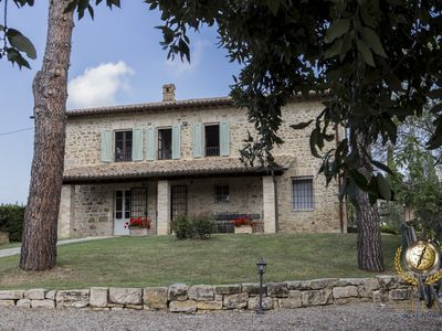 Photo for Villa Tre Pini, an ancient Umbrian farmhouse, with private pool