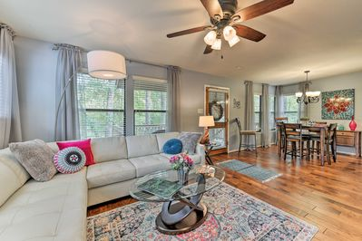 Treat yourself to a memorable stay at this Woodlands vacation rental townhome.