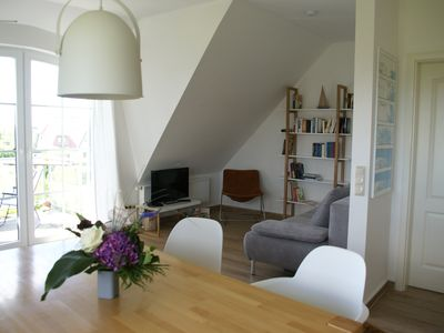 """Photo for Sunny apartment """"Strandfuchs"""" with a fantastic view of the Bay of Lübeck"""
