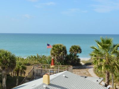 Photo for Beachfront Condo with Amazing Sunset Views of the Gulf.