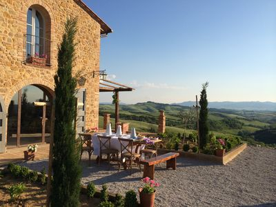 Photo for Stone Villa with Stunning Views