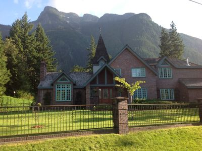 Photo for Majestic Chateau with hot tub and pool close to Vancouver