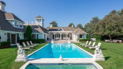 Photo for New Listing:  Italy Comes to the Hamptons!  Heated Pool Hot tub, Pool house, Grass Tennis Court, Fitness Center
