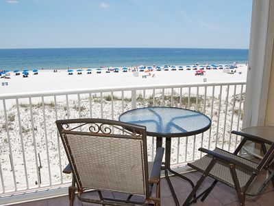 Photo for Castaways 3A: Beautiful gulf front unit, walking distance to shopping, food