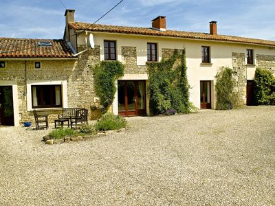 Photo for Tastefully Restored Charentaise Farmhouse With Private Pool