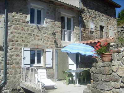 Photo for Village house near Antraigues on Volane