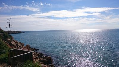 Photo for Peace and relaxation in beautiful apartment 100 meters from the beach