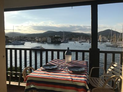 Photo for Panoramic sea view, Gulf of St. Tropez