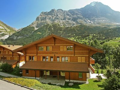 Photo for Apartment 889 m from the center of Grindelwald with Internet, Parking, Balcony, Washing machine (38079)