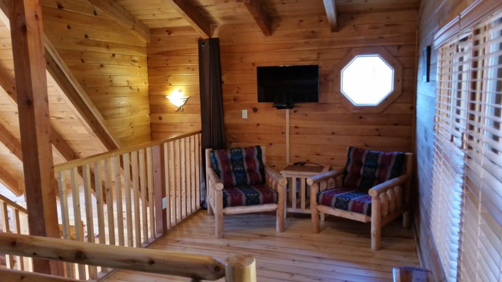 Log Cabin With Theater Room For Rent December
