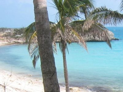 Photo for Ocean front N. Eleuthera near Gregory Town next to the resort 'The Cove'