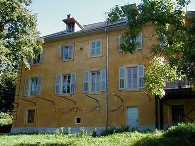 Photo for Large house from Savoy in a magnificent park between lake and mountains