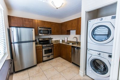 Full kitchen with washer and dryer!!