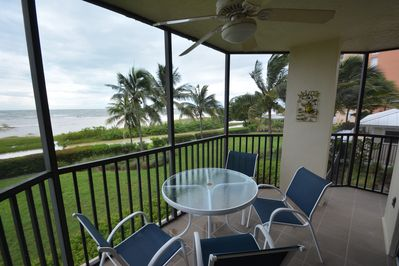 Welcome to the beach!   Wrap-around balcony, and plenty of privacy :)