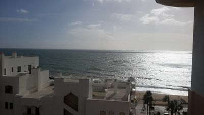 Photo for Quarteira town center, seaside Apartment T2, sea view