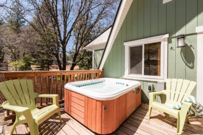 Did I mention we have a HOT TUB!