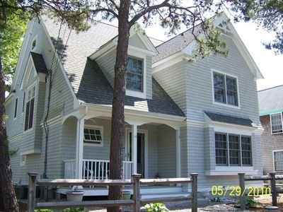 Photo for Luxury 4 BR/4.5 Bath Steps to Private Beach & New Seabury