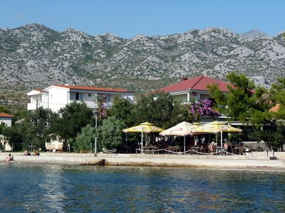 Photo for Holiday apartment 30 meters from the Adriatic Sea