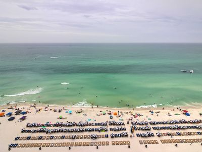 Photo for Ocean-View Panama City Beach Resort Condo w/Pools!