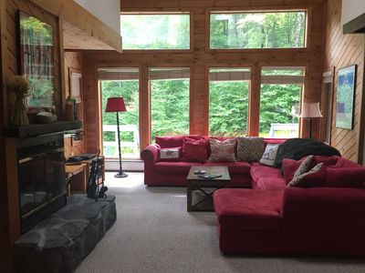 Photo for Peaceful townhouse near Mount Snow; free shuttle